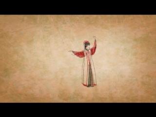 Калмыцкий танец [зарисовка]