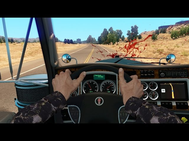 ATS Natasha's Adventures Amusing Hands American Truck Simulator Online 1rst Person Mod