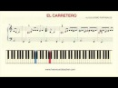 How To Play Piano: EL CARRETERO by GUILLERMO PORTABALES Piano Tutorial by Ramin Yousefi