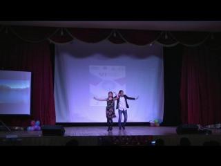 Современный таджикский танец в исполнении студентов из ТГУ