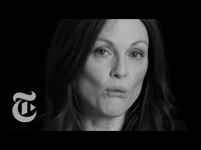 Julianne Moore Interview Screen Test The New York Times