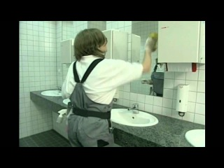 Restroom Cleaning Video (How to Clean a Commercial Restroom)