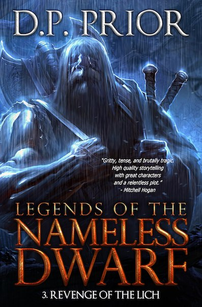 Prior - Revenge of the Lich (Legends of the Nameless Dwarf 03)