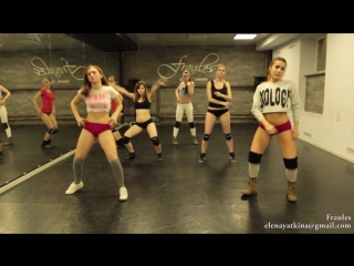 Бути данс супер! BootyDance NEW twerk choreo by DHQ Fraules - Travis Porter Bring it back