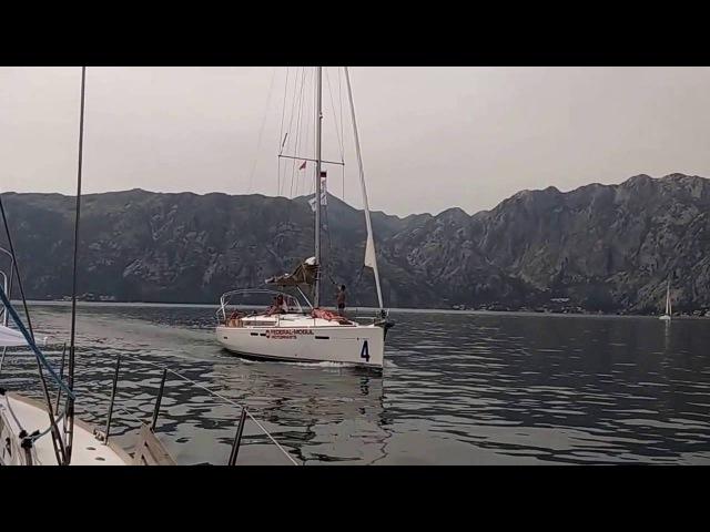 Прогулка на яхте по Бока Которской бухте