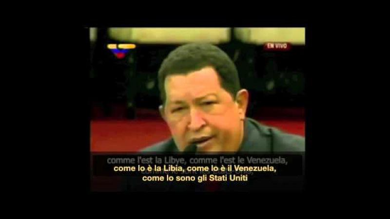 Chavez le crisi in Siria e in Libia sono state pianificate e provocate dall'esterno