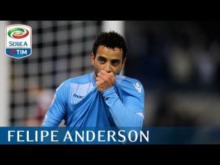 Il gol di Felipe Anderson (70') - Lazio - Torino - 3-0 - Giornata 9 - Serie A TIM 2015/16