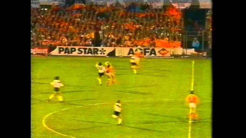 WM 90 Qualifier Holland v Germany 26th APR 1989