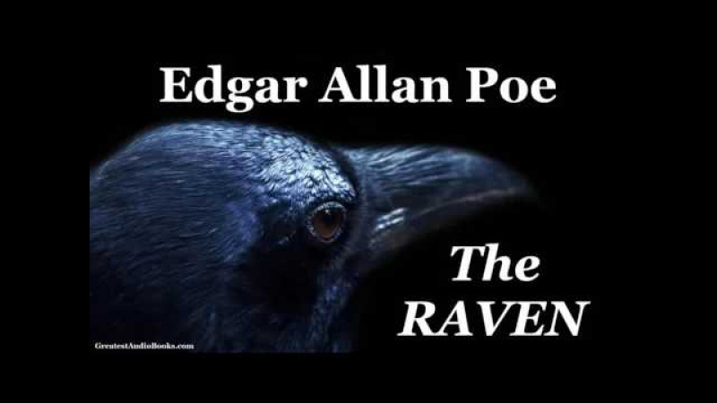 THE RAVEN by Edgar Allan Poe - FULL Audio Book | Multilingual - English, French, Spanish, German