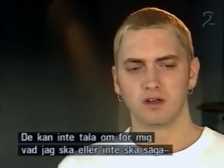 EMINEM. Интервью для шведского ТВ -- 1999