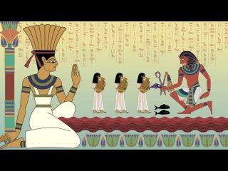 Часть 5. Первая из казней египетских. Ветхий завет в мультиках Нины Пэлей (проект Ceder Mazochizm).