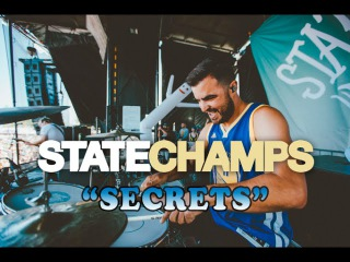 State Champs Secrets Drum Cam (LIVE)