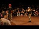 CHAA❤ vs Miss Twiggz BEST8 KIDS European Buck Session 2016 Japan