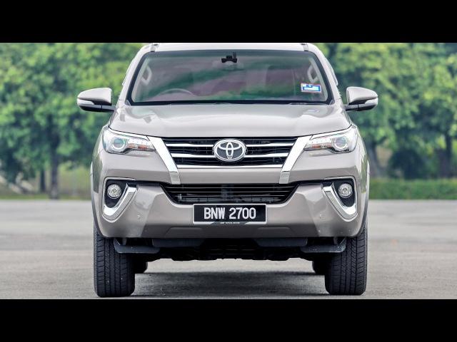 Toyota Fortuner SRZ MY spec AN160 2017