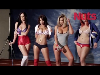 Emma Glover, Holly Peers, Leah Francis, Lucy Collett Nuts (The Boob Olympics) July 2012