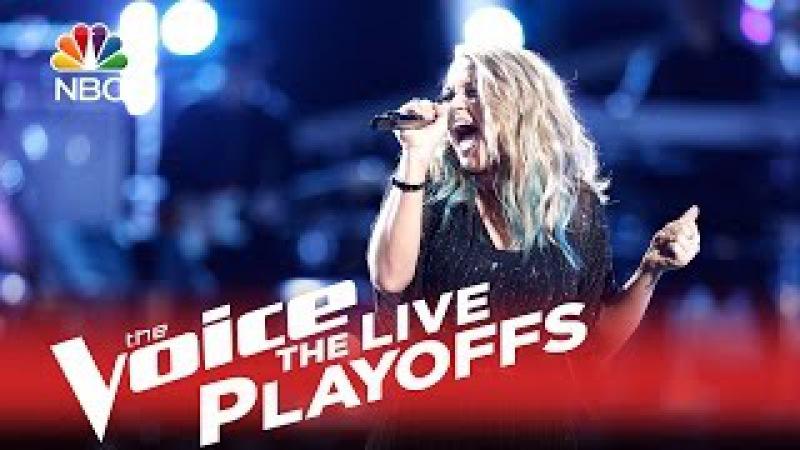The Voice 2015 Riley Biederer - Live Playoffs Shouldve Been Us