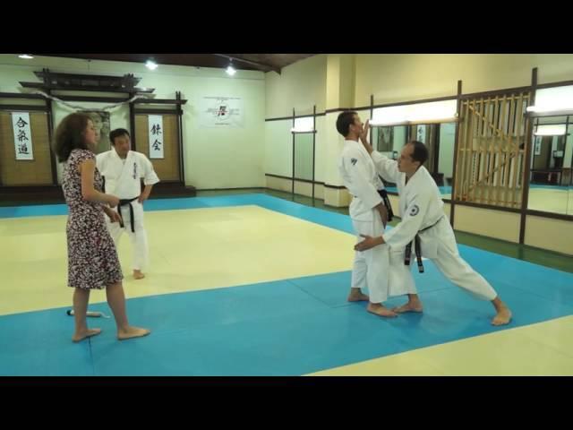 Satoh Tadayuki sensei Elements of New Ranori Rules of ITAF 2016 2nd part