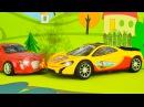 Мультик про Гоночные машинки и Беспорядок в Городе Сборник Видео для детей