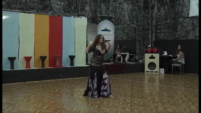 Marzena Antas Poland 1st place Queen Solo Oriental Fever Festival 2015 Gab 6625
