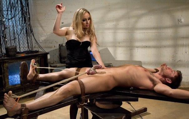 Mistress kara breaks enemy agent mike panic's will through femdom interrogation