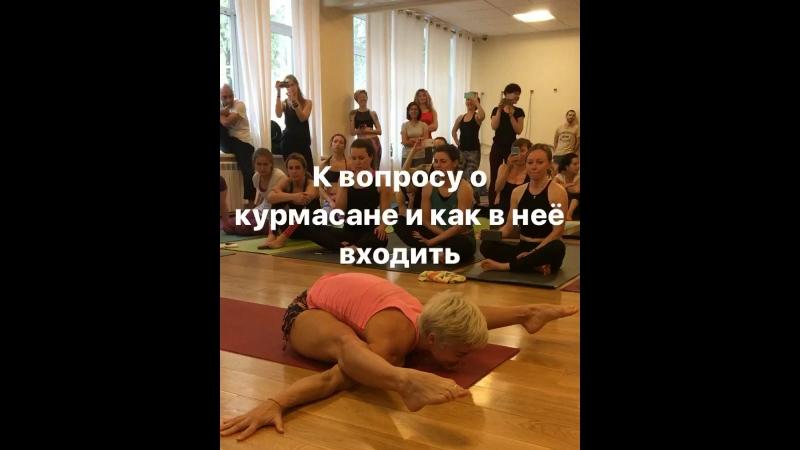 Workshop David Robson Vesic Jelena in kurmasana