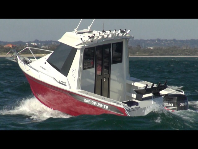 670HTP Part of the all new pilothouse range from Bar Crusher