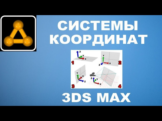 Системы координат в 3ds Max