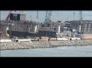 КрЫмский(20.11.2017)мост! Крым-Тамань в мельчайших подробностях! Технологический съ