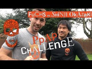 """#NoFuchsGiven - """"PPAP Challenge"""" with Shinji Okazaki"""