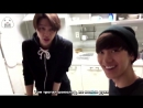 [РУС.САБ] COOKING TIME WITH JOHNNY YUTA TEN NCT