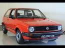 VW Golf 1984 17945 km history present fully original as good as new VIDEO
