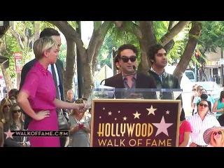 Kaley Cuoco Walk of Fame Ceremony