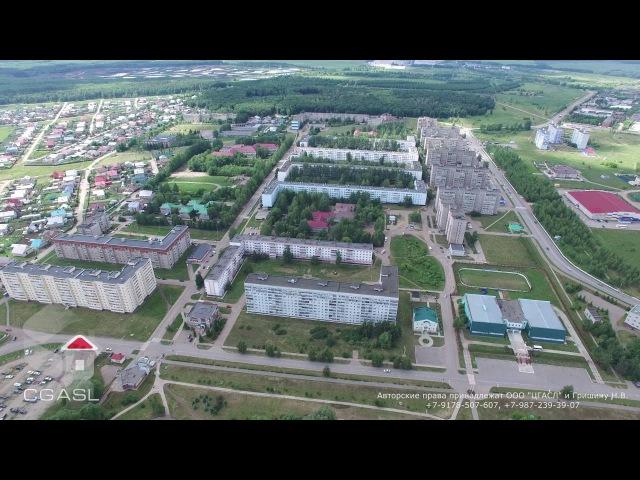 Аэросъемка города Заинск