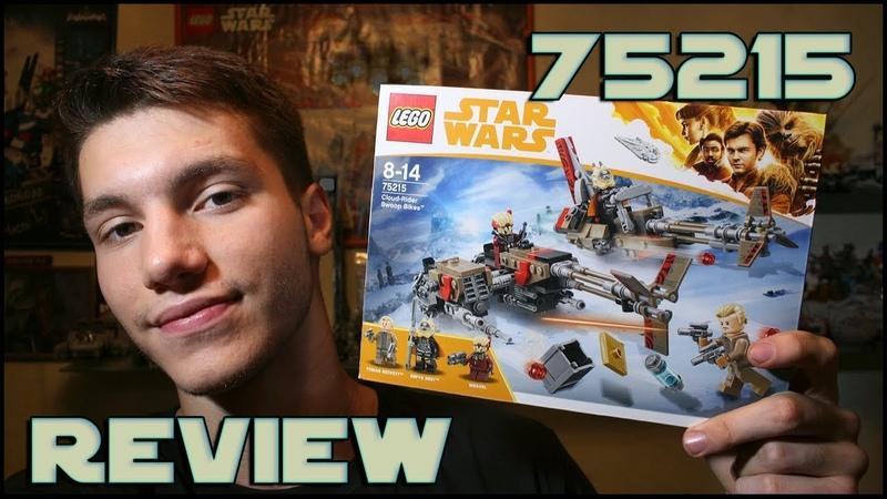 Lego Star Wars 75215 Cloud-Rider Swoop Bikes Review | Обзор ЛЕГО Звёздные Войны Свуп-Байки