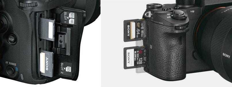 В более дорогих моделях по 2 карты памяти! используйте это!