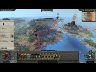 Total War Warhammer 2. З.С. монолог Охранника ( Полковника )
