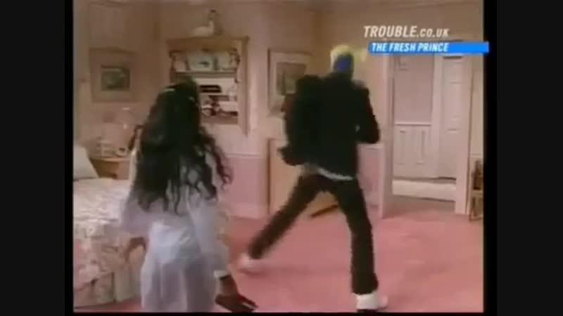 Уилл Смит в сериале Принц из Беверли Хиллз 90 е