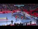Danska - Svedska 34-35 (28-28), posljednja minuta reg. dijela (Polufinale, EURO CROATIA 2018), 26.01.2018. Full HD