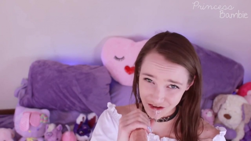 Princess Bambie Missing Daddys Cock Blowjob and Dirty Talking Teen, Porn, Amateur, Solo, Masturbate, Petite,