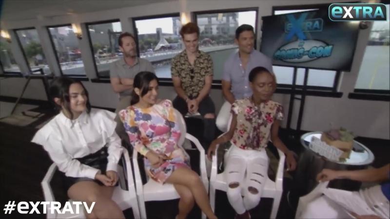'Riverdale' at SDCC! Camila Mendes KJ Apa Tease Veronica Archie's 'Tough' Relationship
