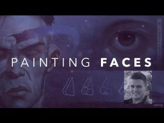 Рисование лиц в фотошопе