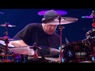Neil peart drum solo rush live in frankfurt (pink floyd) 720