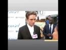 Robert Pattinson Chats With Lina Noory (Fab TV) During LA DamselMovie Premiere