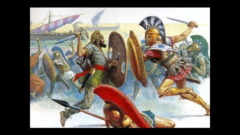 Величайшее морское сражение древней Греции Битва греков и персов