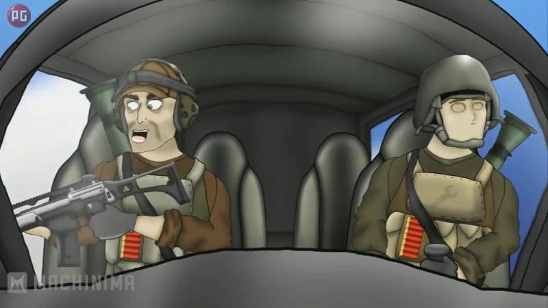 Друзья по Battlefield Растраченный транспорт 12 серия 1 сезон
