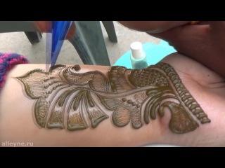 Best Indian Arabic Henna Mehndi Art Design