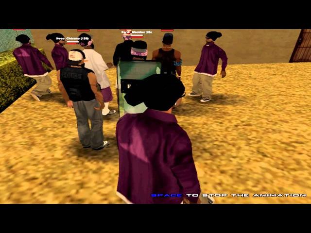 NGRP - Grape Street Crips vs Gangster Disciples Jump In