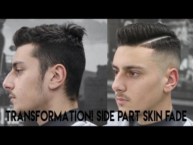 Haircut Tutorial Side Part Hard Part Kieron The Barber