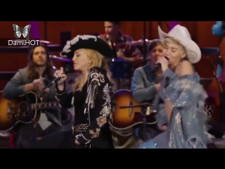 Miley Cyrus ft. Madonna - Dont Tell Me_We Cant Stop MTV Unplugged HD1080