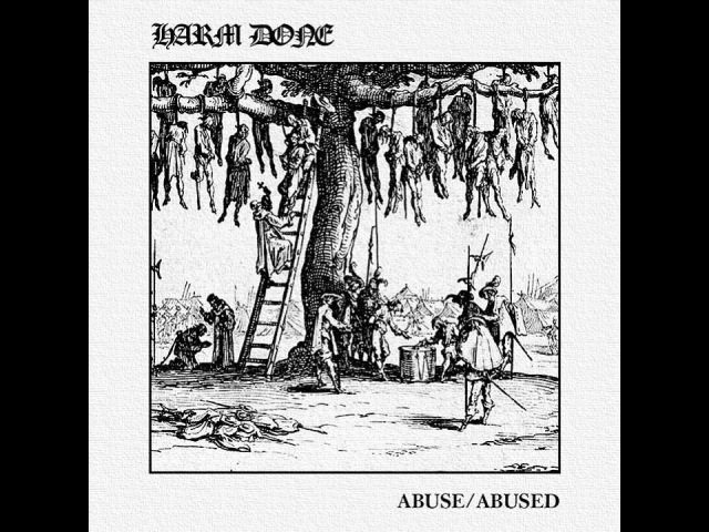 Harm Done Abuse Abused LP 2016